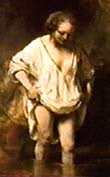 A Woman Bathing, 1654, Rembrandt