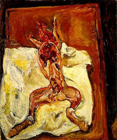 Chaim soutine s carcass paintings part 1 art perception for Chaim soutine