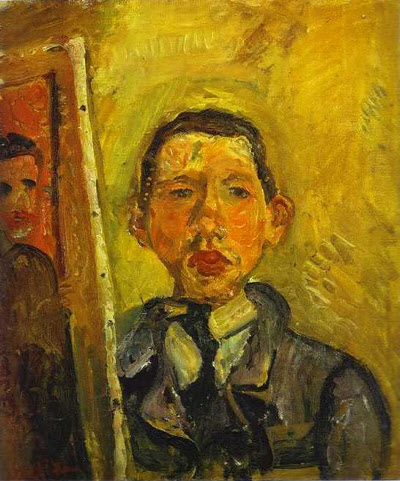 Self Portrait, Chaim Soutine 1918